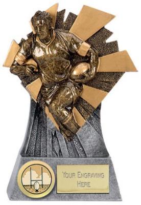 Smash Rugby Trophy SM011A 12cm