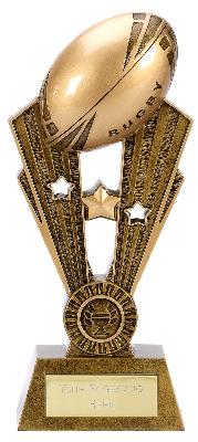 Fame Rugby Trophy A1371C 24cm