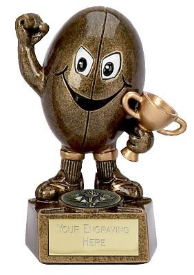 Rugby Man Trophy A997 10cm
