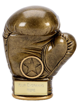 Premier Boxing Glove Trophy A1334A 9cm