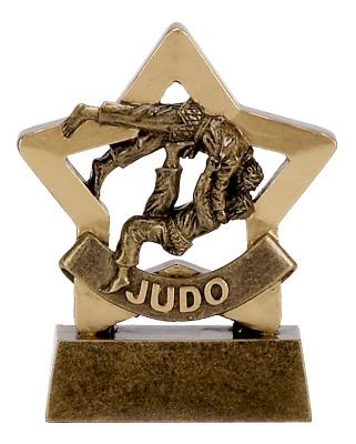 Mini Stars Judo Trophy A1113 8cm