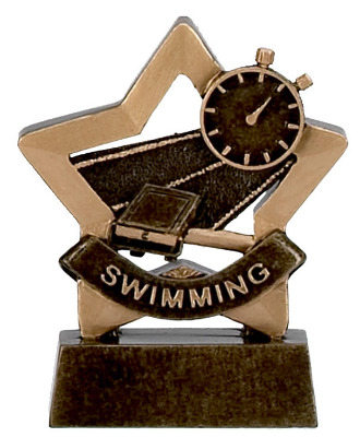 Mini Stars Swimming Trophy A950 8cm