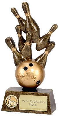 Pinnacle Ten Pin Bowling Trophy A1248A 15cm