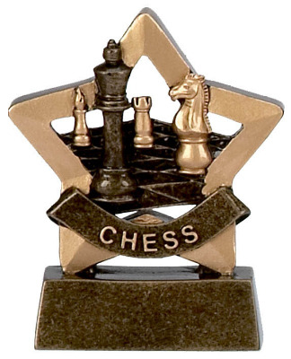 Mini Star Chess Trophy A952 8cm