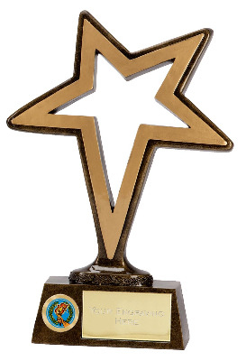 Pinnacle Stars Trophy A1245A 15cm