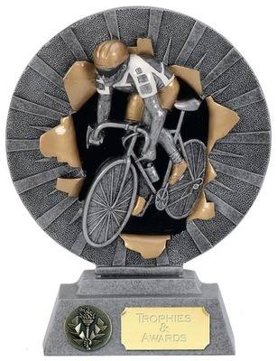 Xplode 2D Cycling Trophy XP039B 15cm