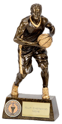 Pinnacle Male Basketball Trophy A1250A 15cm