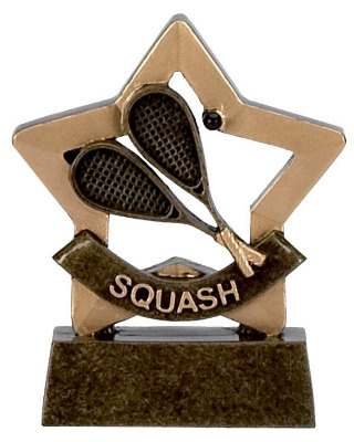 Mini Stars Squash Trophy A970 8cm