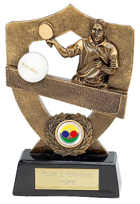 Celebration Shield Tennis Trophy A381A 14cm