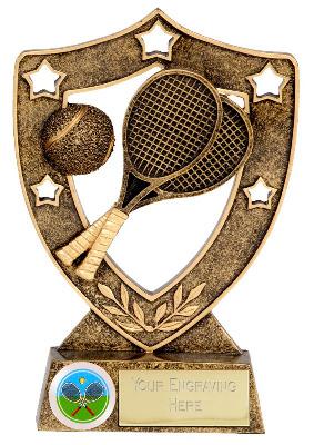 ShieldStar Tennis Trophy N01033A/G 12cm