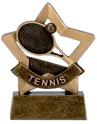 Mini Stars Tennis Trophy A954 8cm