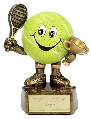 Tennis Man Trophy A998 10cm