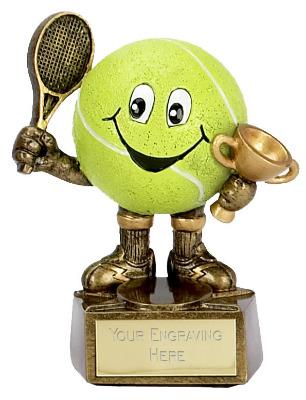 Tennis Man Trophy A998 10cm