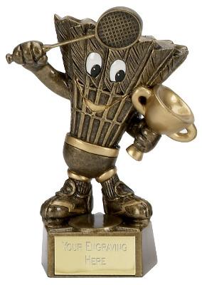 Badminton Man Trophy A1098 12cm