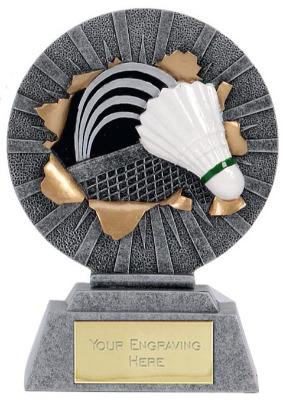 Xplode Badminton Trophy XP079AA 9cm