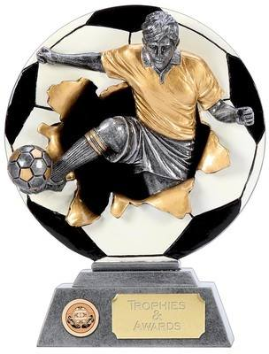 Xplode 2D Football Player Trophy XP001C 17cm