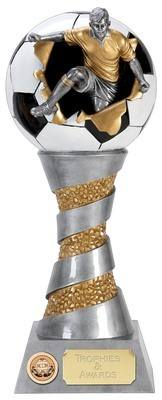 Xplode 3D Football Player Trophy XP021B 28cm
