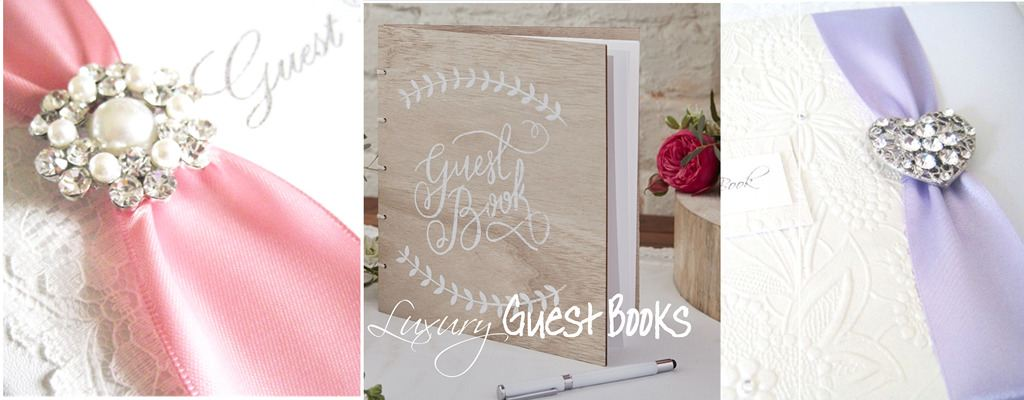 luxury personalised guest books