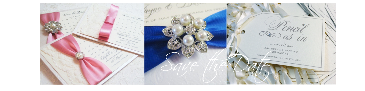 Pretty save the date wedding cards
