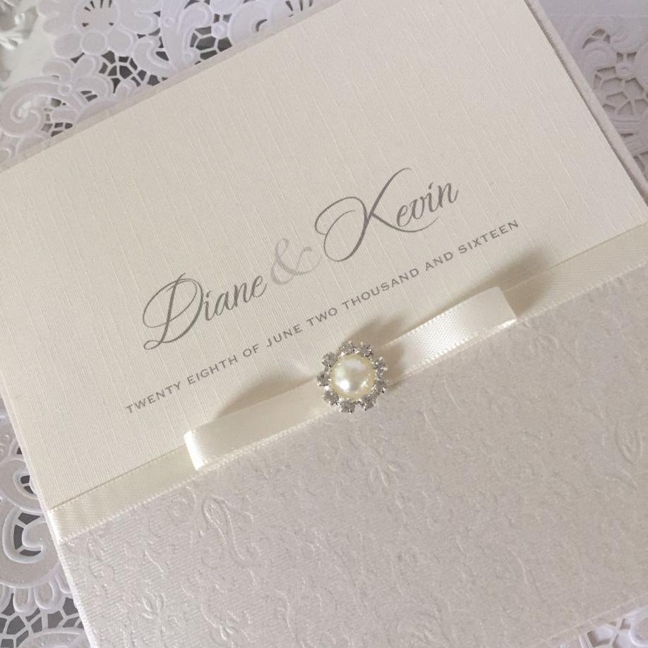 Pearl Wedding Invitations Gallery Party Ideas