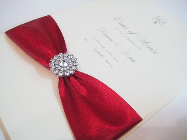 order of service books for church wedding