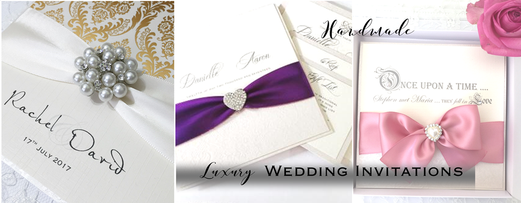 Luxury wedding invitations and personalised stationery
