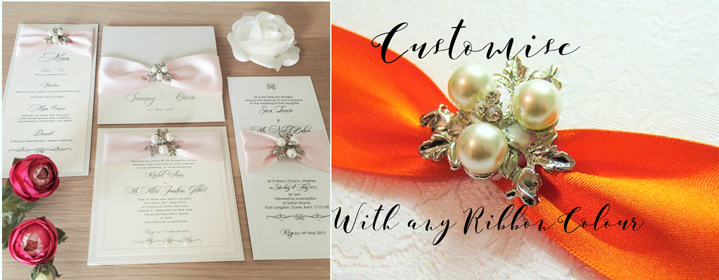 Customise your Wedding Invitations with Brooches