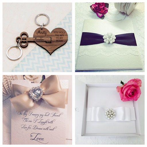 Luxury boxed wedding invitations UK
