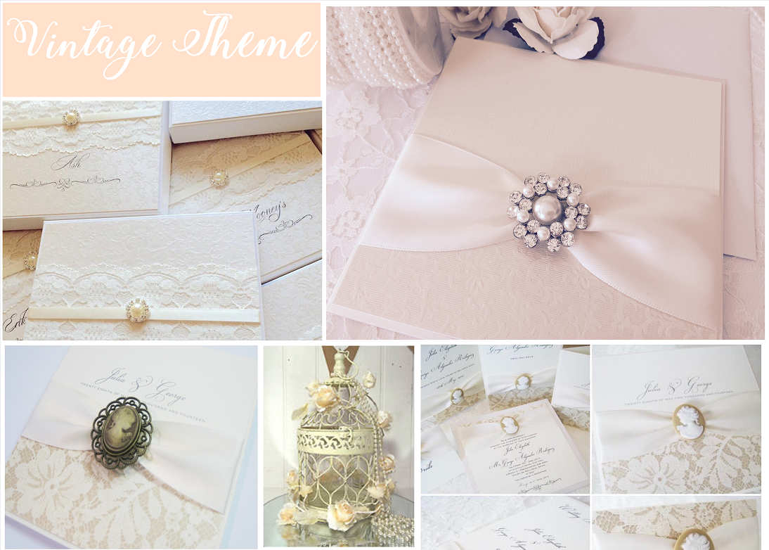 Vintage Themed wedding inspiration moodboard