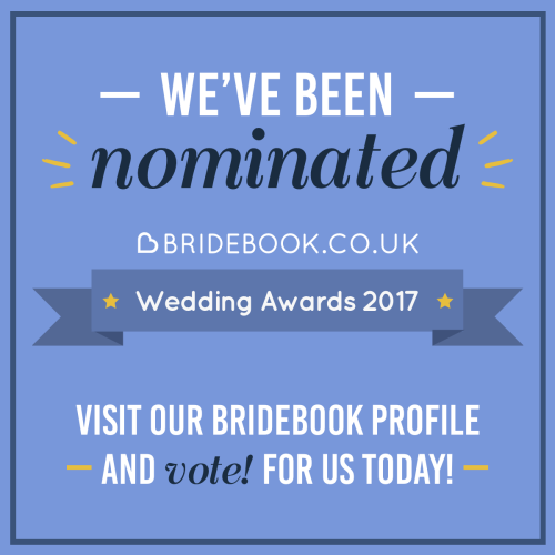 Bridebook.co.uk Wedding Awards Still Social Media Post 1
