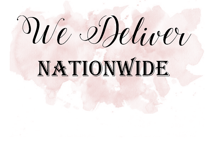 Amor Designs offer a Nationwide delivery service by courier