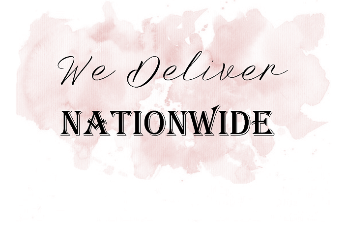 Amor Designs offers a nationwide delivery service to the UK and Ireland