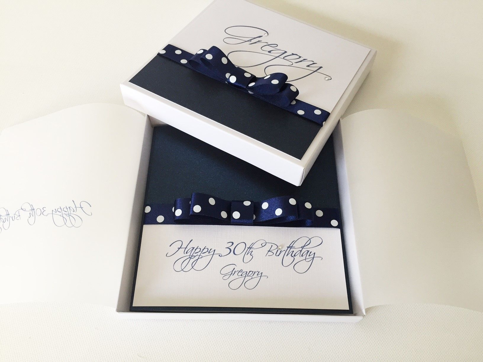 special birthday boxed invitation custom made