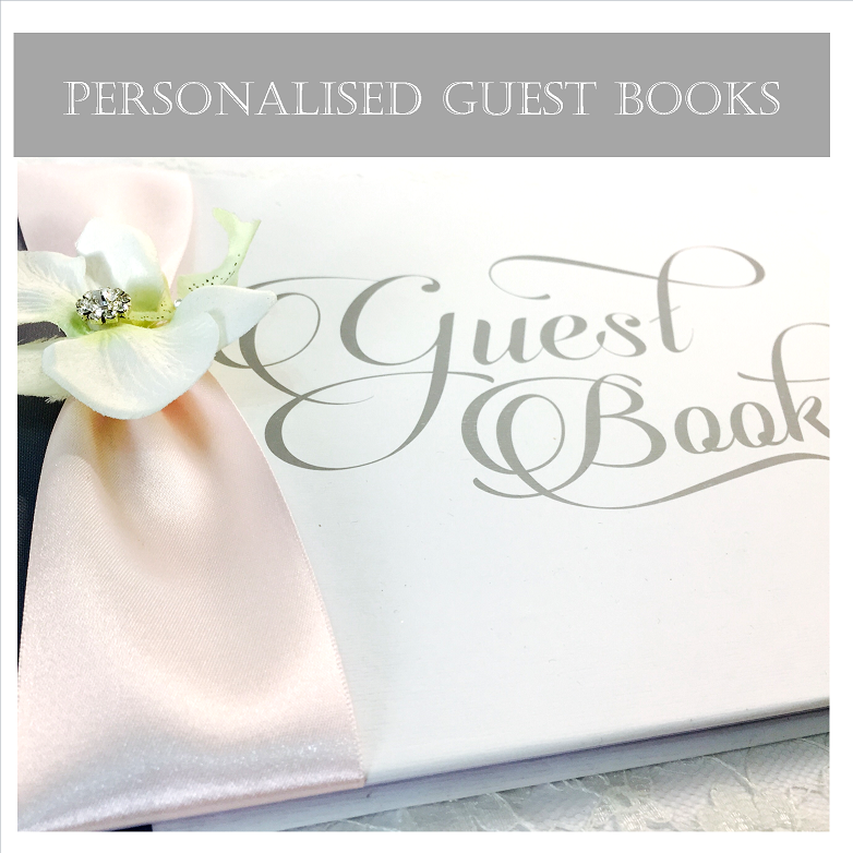 Custom Made Guest Books for Weddings and Events