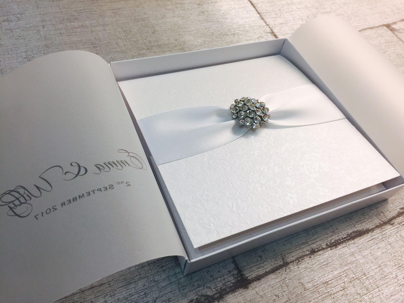 Beautiful Boxed Wedding Invitations UK Amor Designs