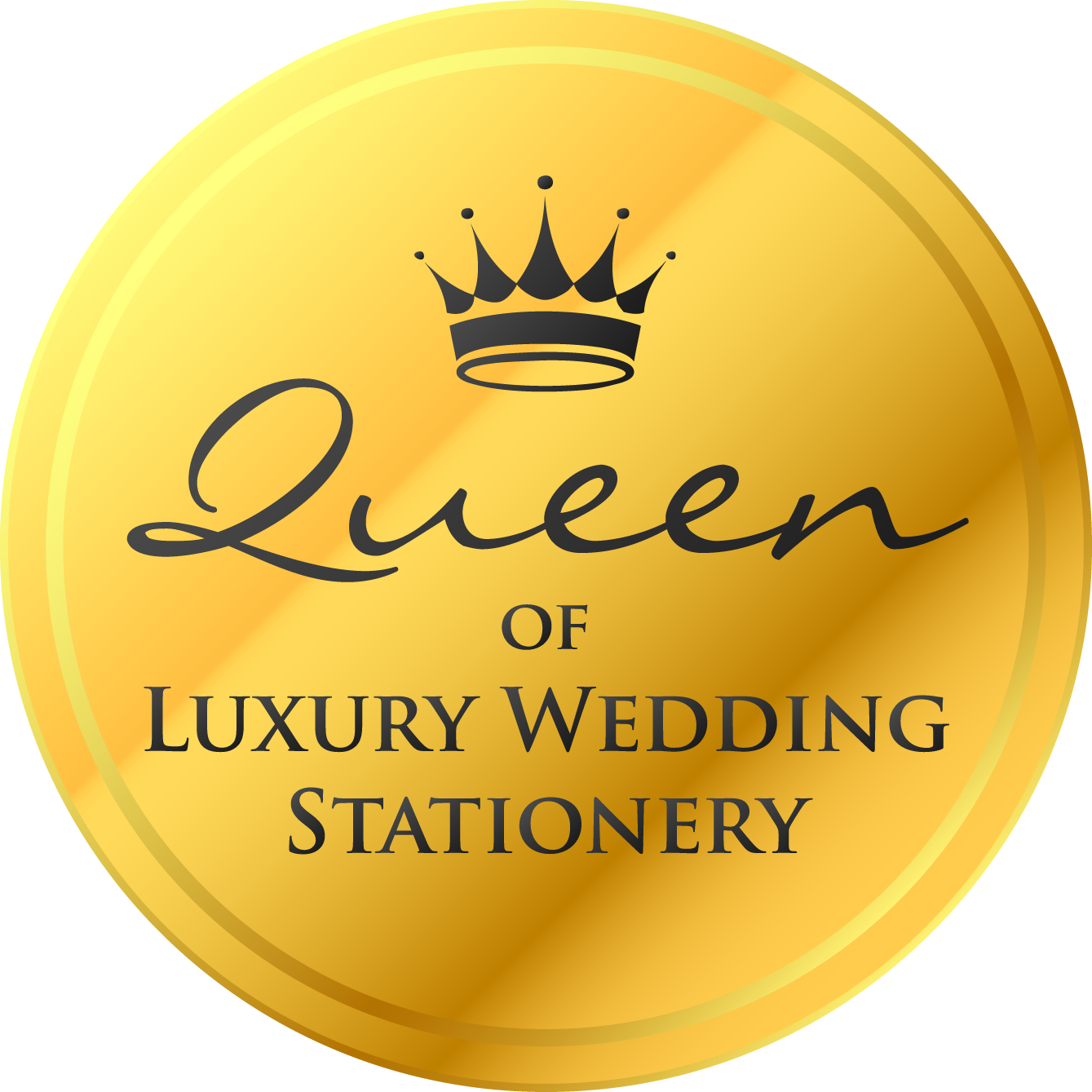 Amor Designs queen of luxury stationery winner