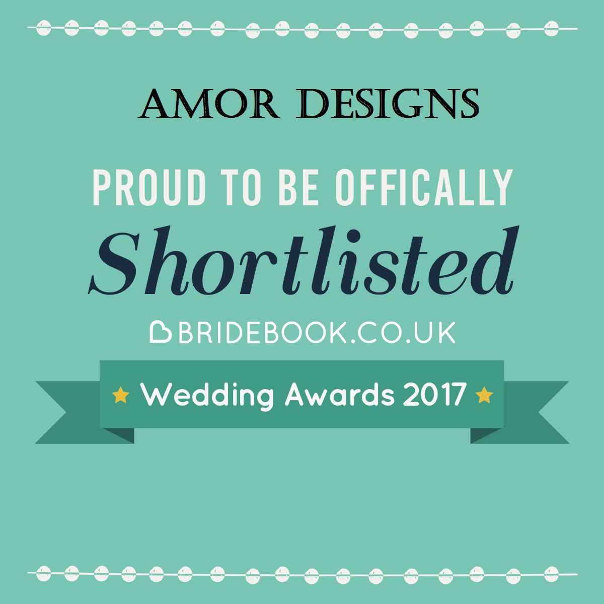 Amor Designs shortlisted for wedding stationery 2007