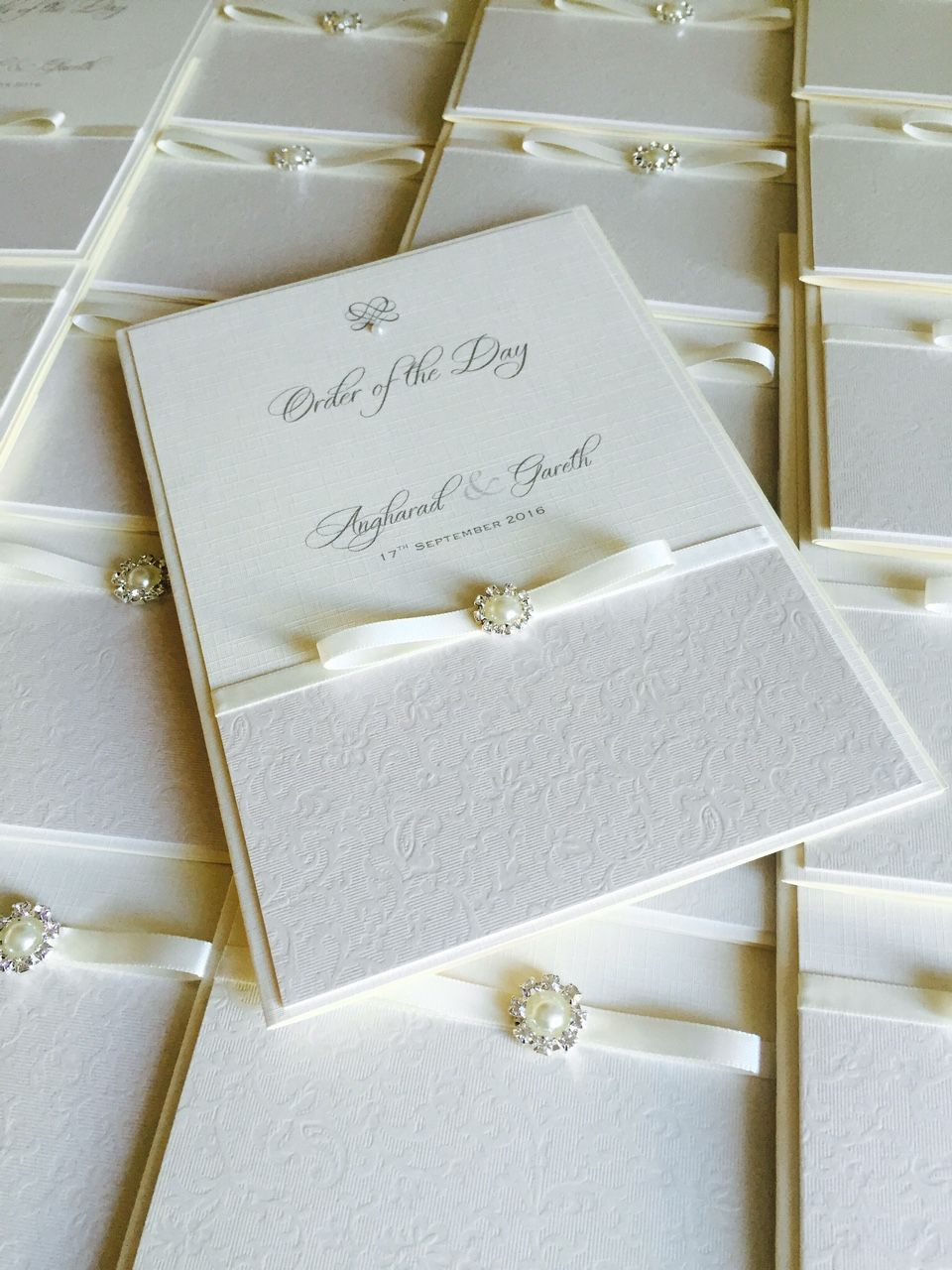 Order of the Day Books for your wedding ceremony