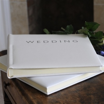 Large Leather Wedding Photo Album
