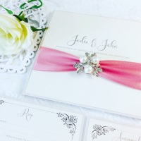 Sofia Pearl Wedding Invitation Sample