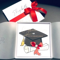 Congratulations on your Graduation Personalised Boxed Card