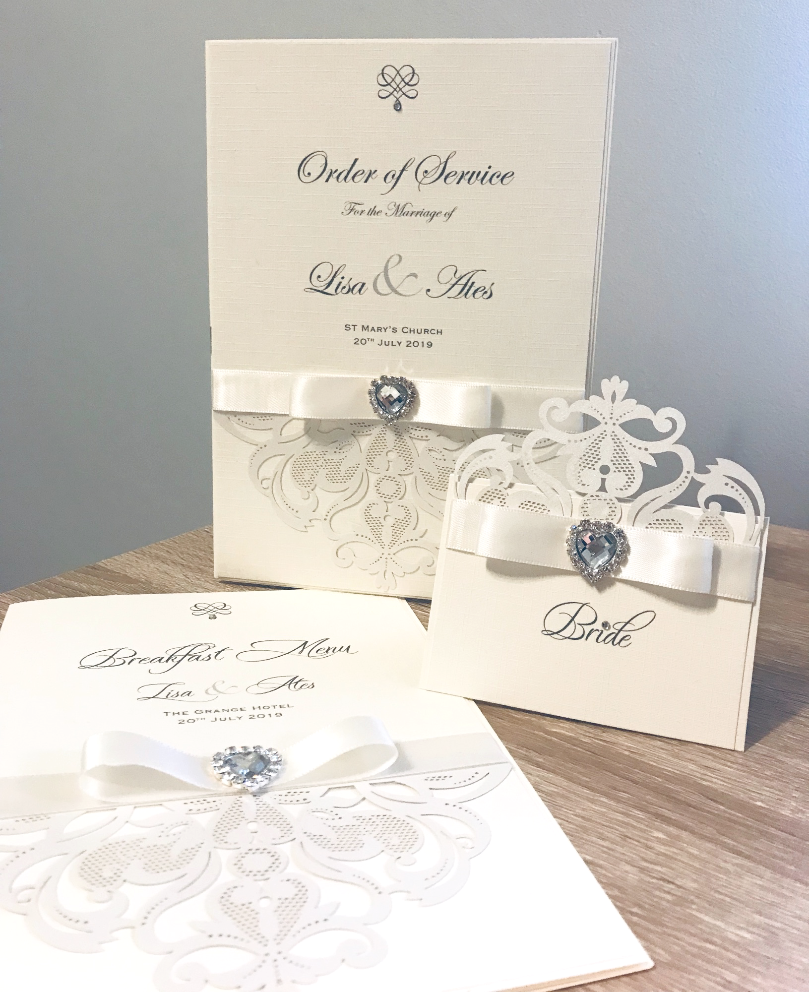 Order of service Mass Booklets for weddings