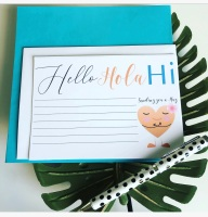 10 Postcard Notelet Sending You a Hug Notecards Pack