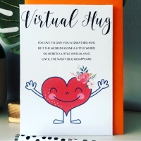 10 Virtual Pocket Hug Poem Post Cards