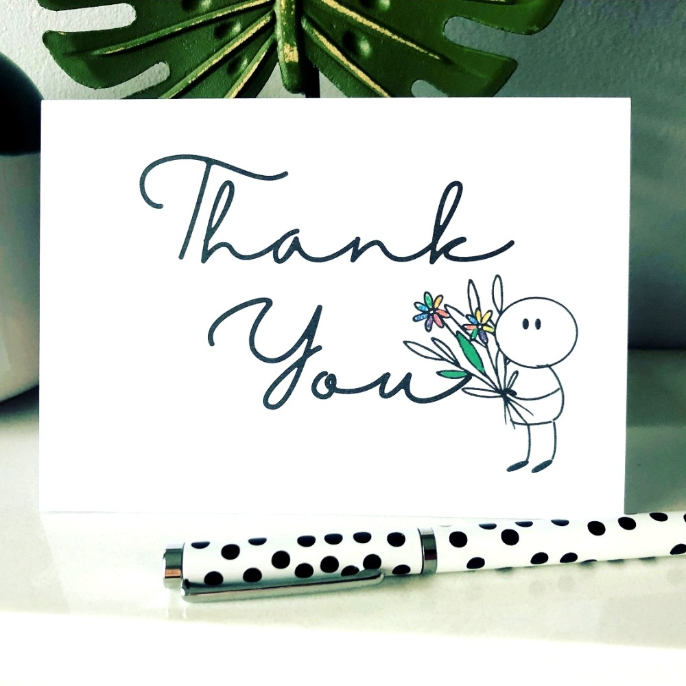 Thank You Cards Multi Pack of 10