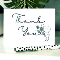 10 Cute Thank You Cards Multi Pack