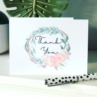 10 Whimsical Thank You Cards Pack