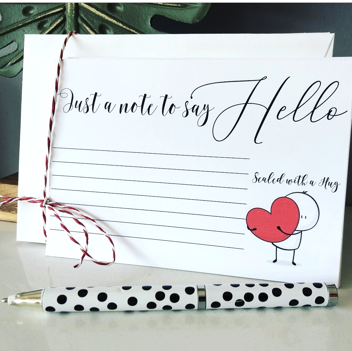 Notecards and writing sets