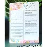 Hen Party Bridal Shower Card Games 10 Pack