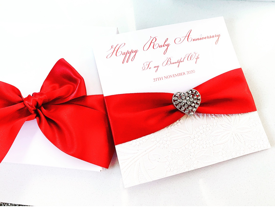Wedding Anniversary and special occasion cards